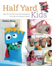 Half Yard Kids 20 Project Paperback Sewing Book